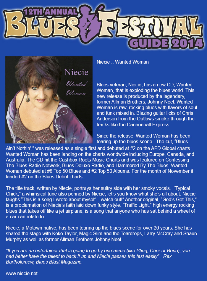 Blues Festival Guide Jan2014